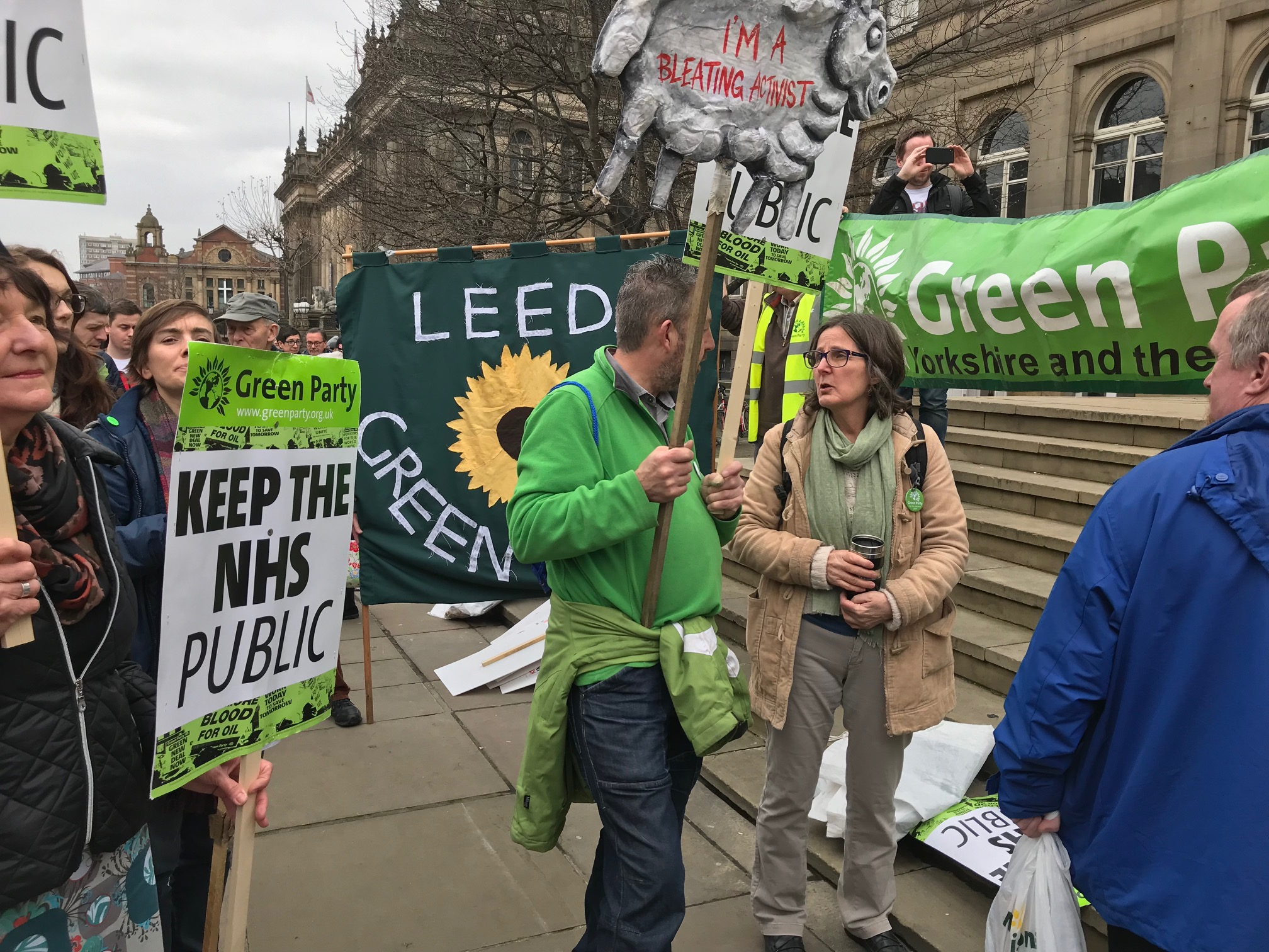 NHS March Leeds April 2018